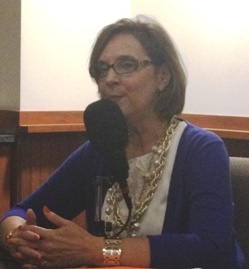 Janet Fiore being interviewed on Executive Leaders Radio