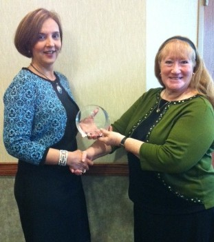 Janet Fiore receives 2012 Professional Development Award
