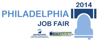 Philadelphia recruit disability OVR Job Fair logo