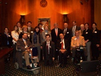 The Sierra Group meets with Senator Ben Nelson and others